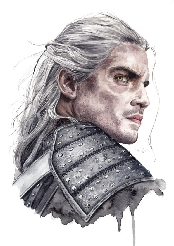 Henry Cavill as Geralt from the Witcher
