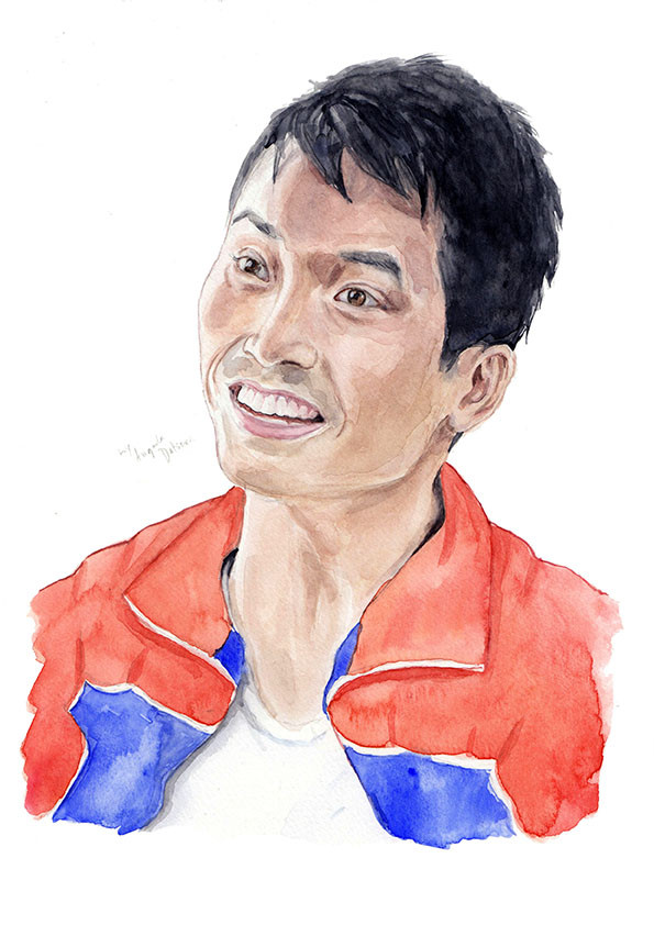 Manny Jacinto as Jason Mendoza from The Good Place