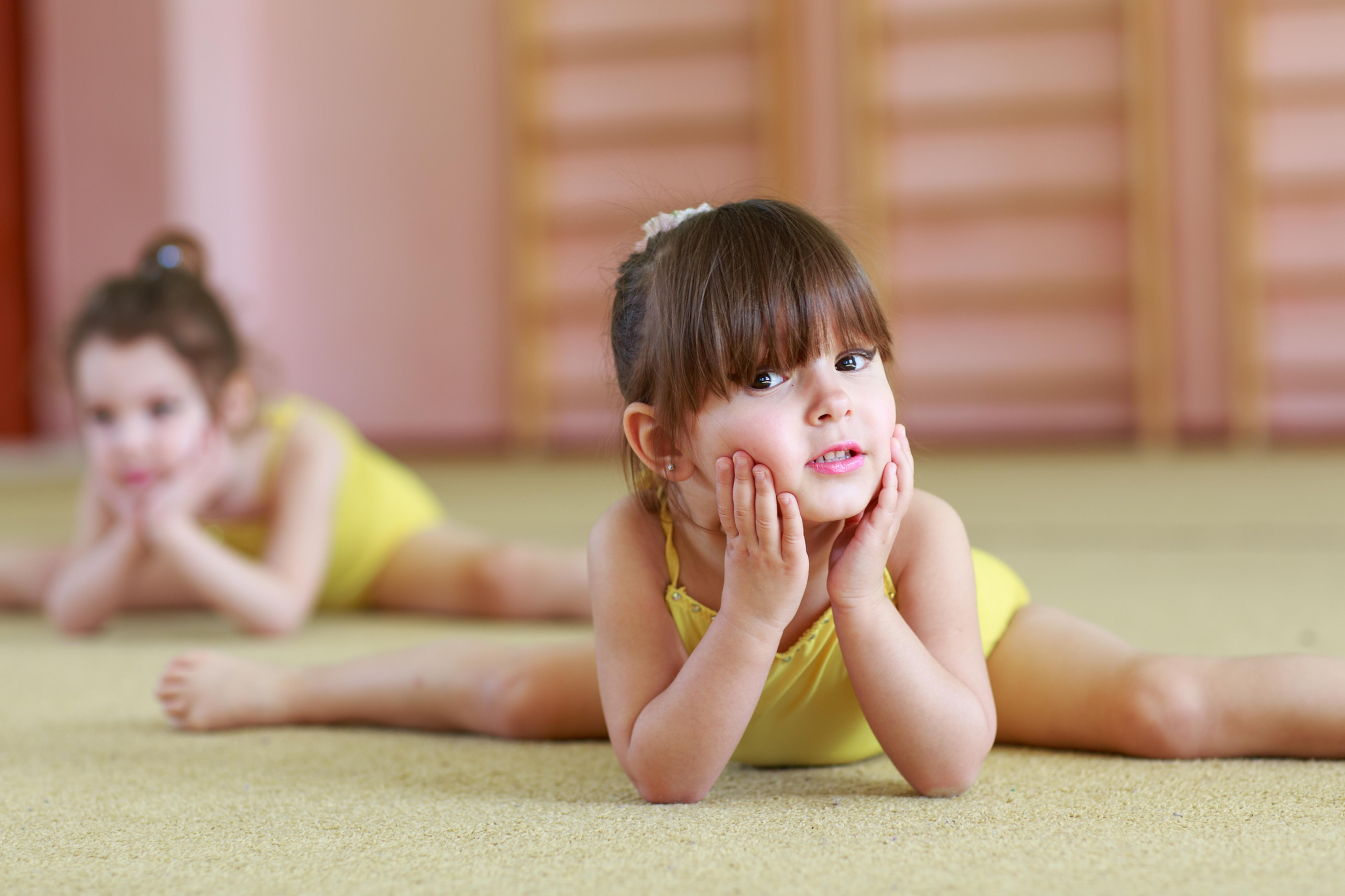 Kids gymnastics 4 years old