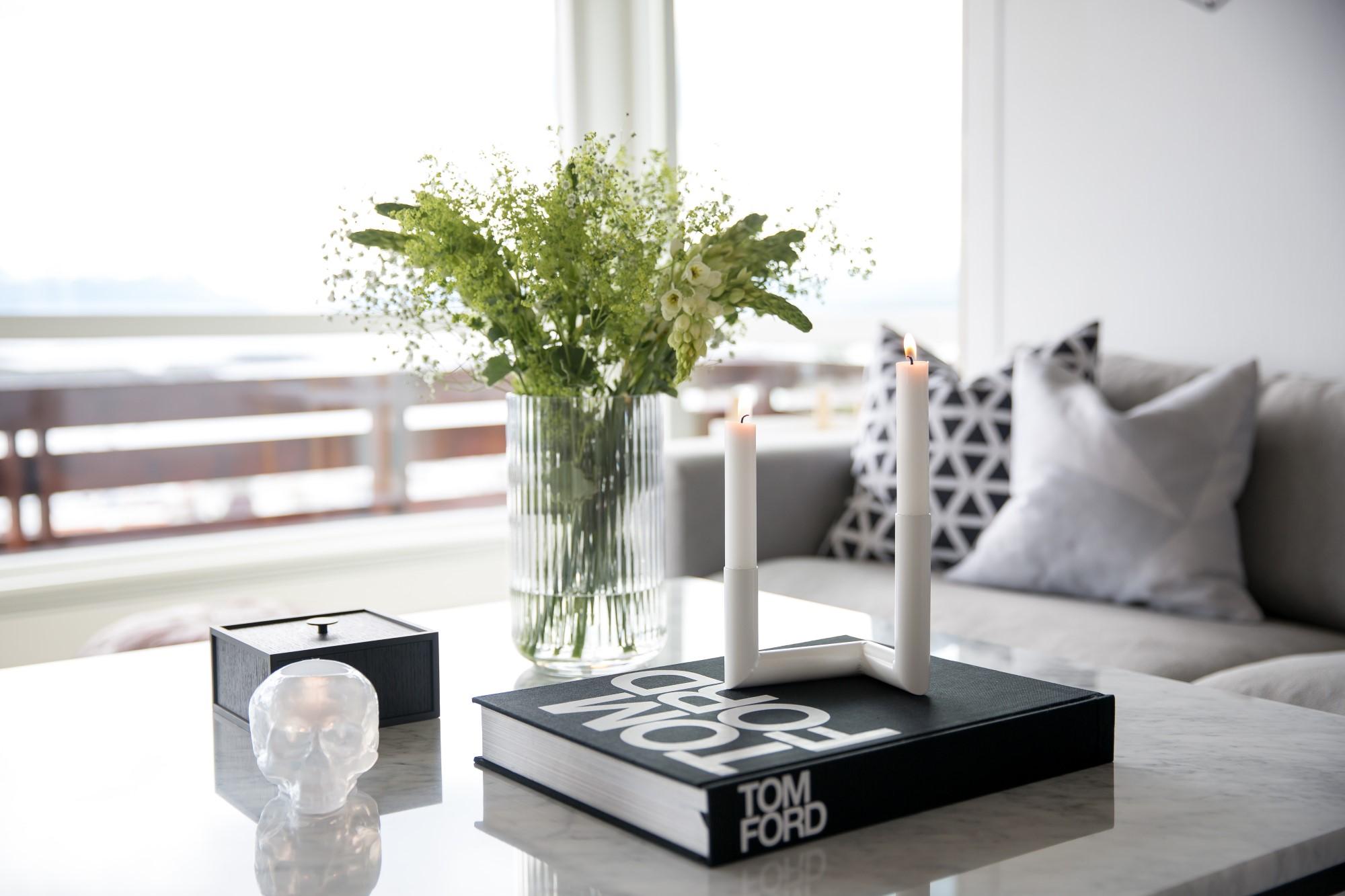 Candlestick white Nur Design