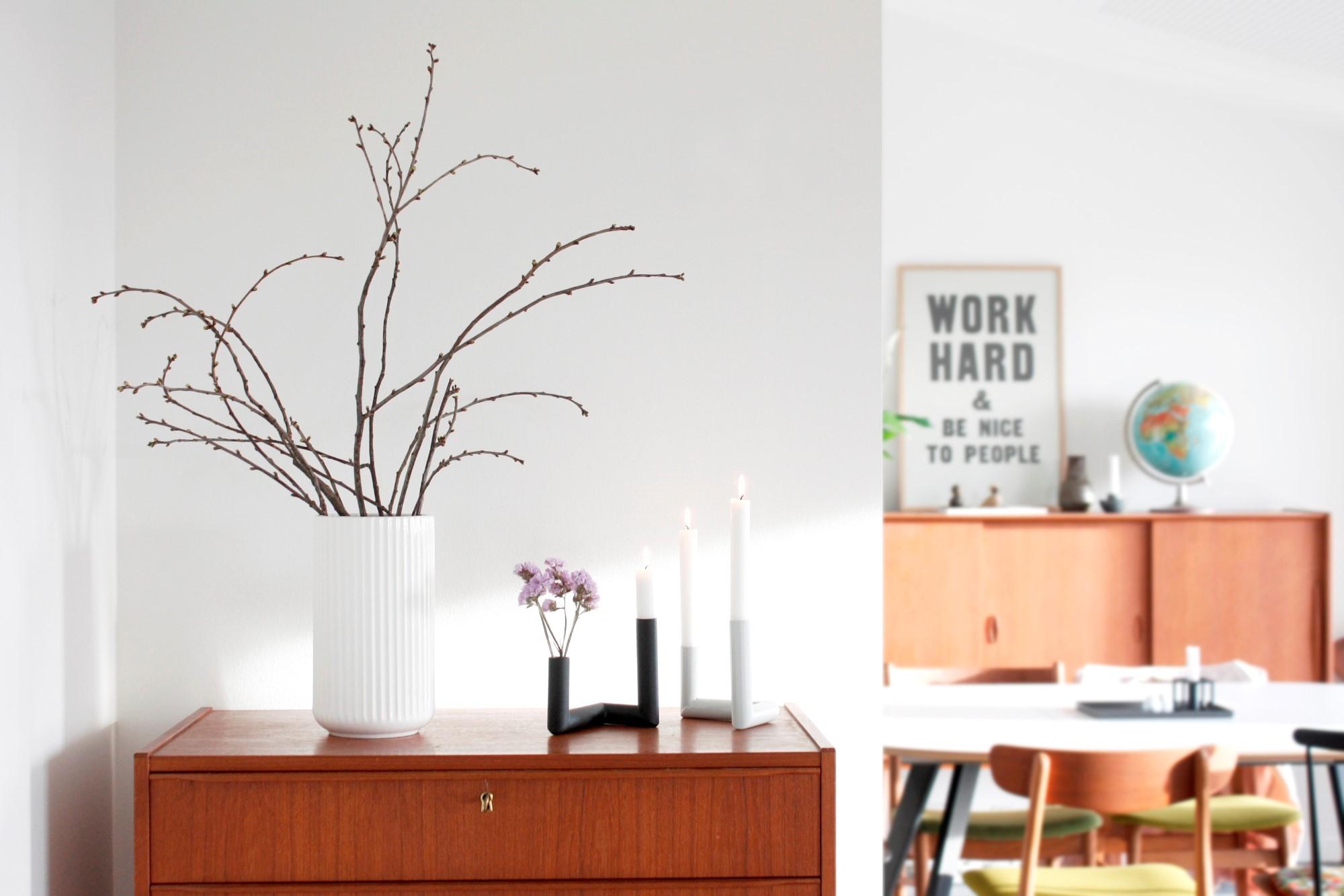 Nur Pipeline candleholder and vase
