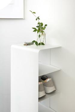 FELA shoe rack white