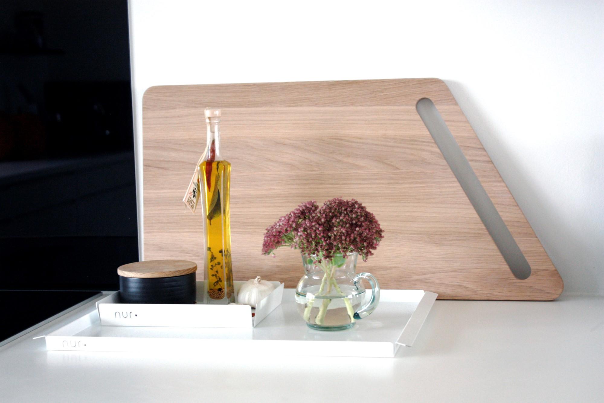 KLIPPA - Solid Oak Skærebræt