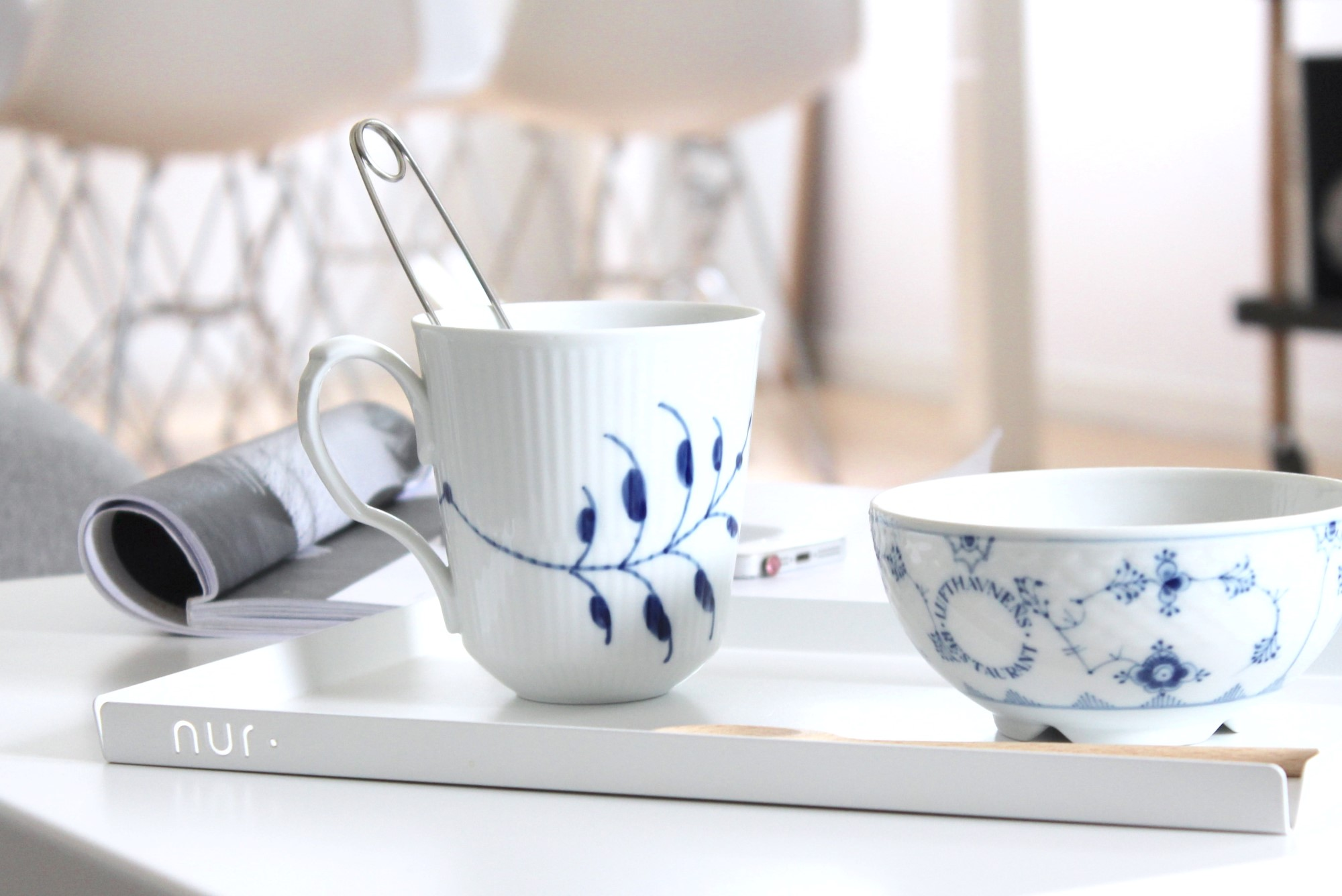Serving tray for tea from Nur Design