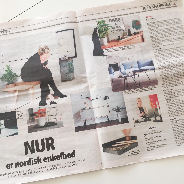 Presse Nur Design artikel