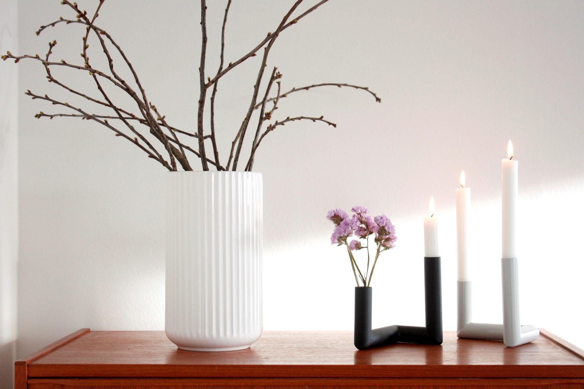 Nur Pipeline lysestage og vase
