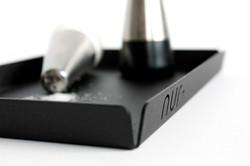 Nur Tray small in black
