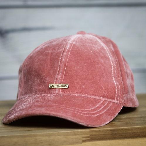 Pink Velour Cap