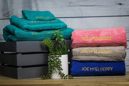 Joe McElderry Towel Collection