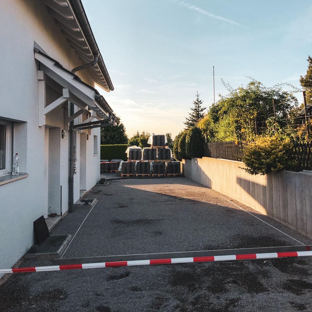Sanierung Zufahrt