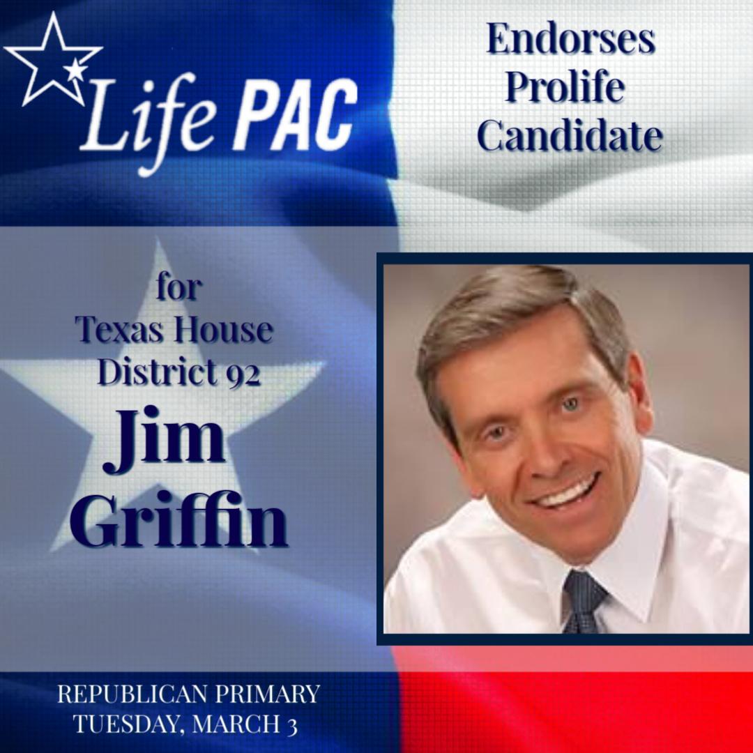 Jim Griffin HD 92 LP Rep 2020