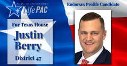Justin Berry for TX HD 47