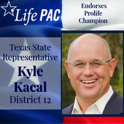 State Rep. Kyle Kacal, Dist 12