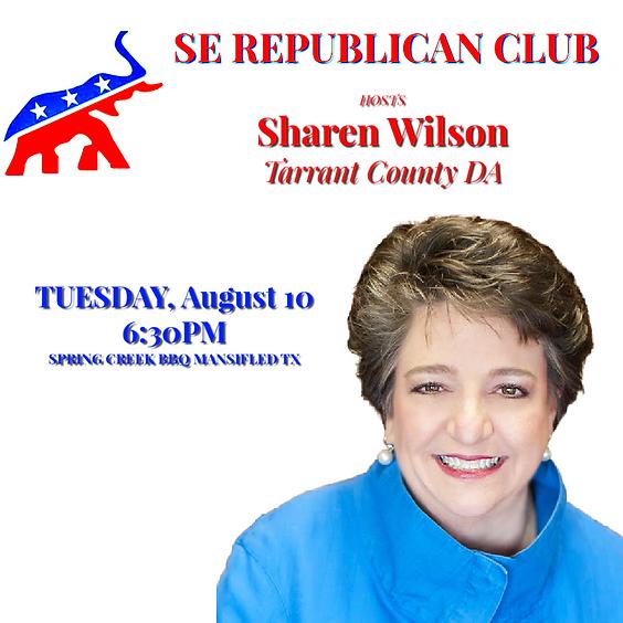 Sharen Wilson, CDA Tarrant County