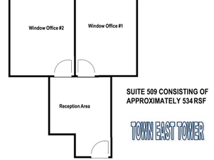 Suite 509 - Approx. 534 RSF