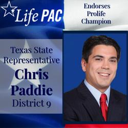 State Rep. Chris Paddie, HD 9