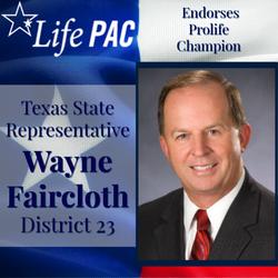 State Rep. Wayne Faircloth HD 23