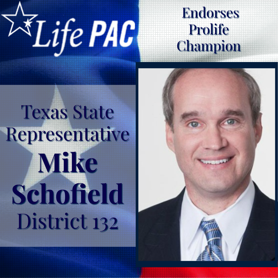 State Rep. Mike Schofield, Dist 132