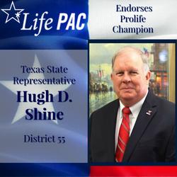 State Rep. Hugh Shine HD 55