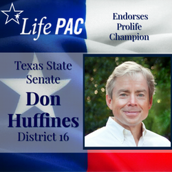 Don Huffines SD 16