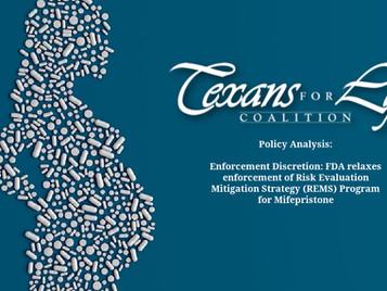 Enforcement Discretion: FDA relaxes enforcement of Risk Evaluation Mitigation Strategy (REMS)