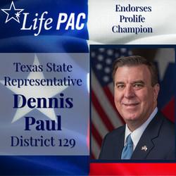 State Rep. Paul Dennis, Dist 129