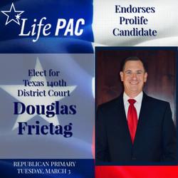 Douglas Frietagl  for 140th Dist Court L