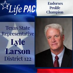 State Rep. Lyle Larson, Dist 122