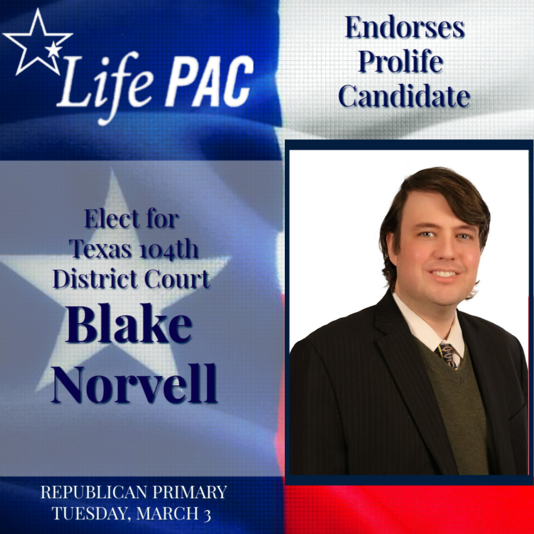 Blake Norvell for 104th Dist Court LP Re