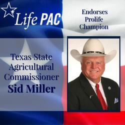 Sid Miller Ag Commissioner