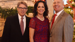 AFTER A SOLD OUT EVENT WITH FORMER TEXAS GOVERNOR RICK PERRY, GINA PARKER FILES FOR PLACE ON PRIMARY