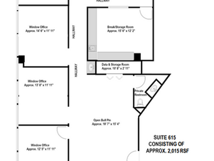 Suite 615 - Approx. 2,015 RSF