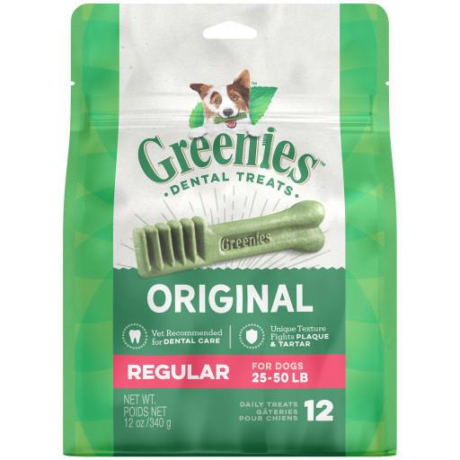 Greenies Treat Pack 12 oz. Regular 12 Count