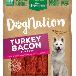 Freshpet Dog Nation Turkey Bacon Treats - 3 oz