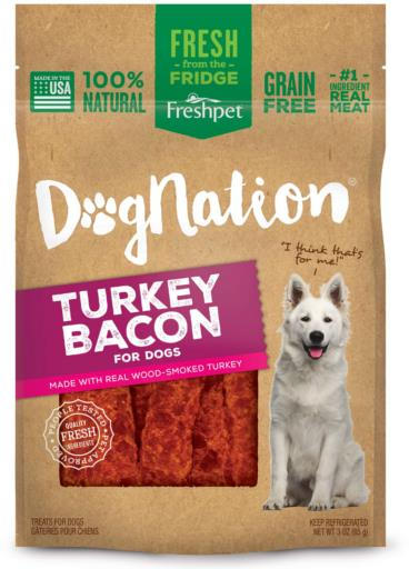 Freshpet Dog Nation Turkey Bacon Treats - 3 oz