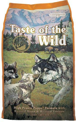 Diamond Taste of the Wild Bison & Venison Puppy - 14 lb
