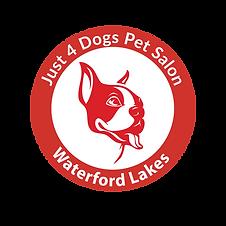 waterford lakes J4d Round Logo w-White-0