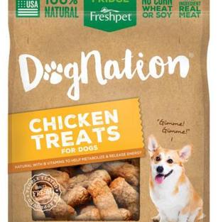 Freshpet Dog Nation Chicken Treats 8 oz
