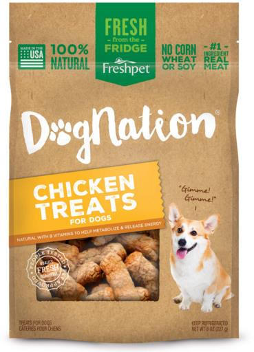 Freshpet Dog Nation Chicken Treats 8 oz