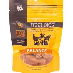 Treatibles Balance Pumpkin Chew Large 4 mg CBD 7 ct