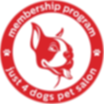 Just 4 Dogs Membership Program