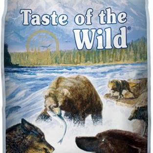 Diamond Taste of the Wild Pacific Stream Smoked Salmon Dog - 14 lb