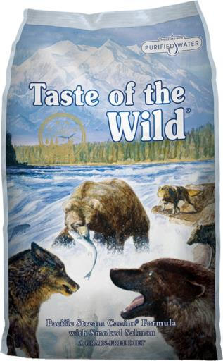 Diamond Taste of the Wild Pacific Stream Smoked Salmon Dog - 14 lb