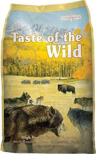 Diamond Taste of the Wild High Prairie Bison & Venison Dog - 14 lb