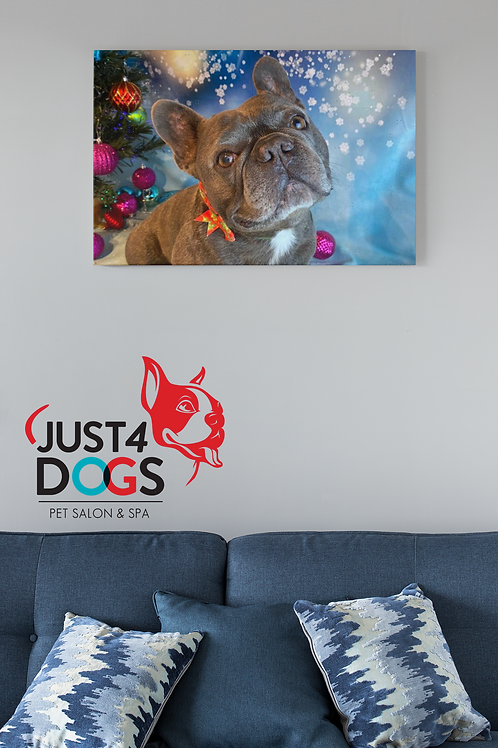 "Canvas Art -Your Dog Here! 24""x36"""