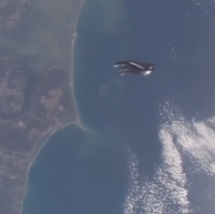 Black Knight Satellite ISS. 2018
