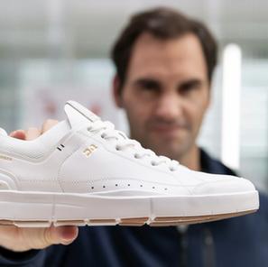Jelang gantung raket, Federer rintis bisnis sneaker