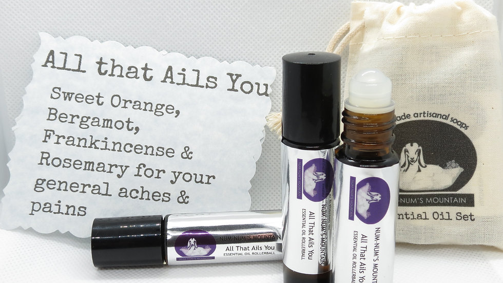 All that ails you Essential Oil Rollerball