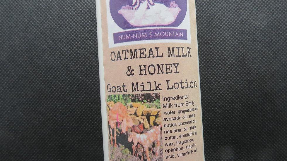 Oatmeal Milk & Honey Goat Milk Lotion