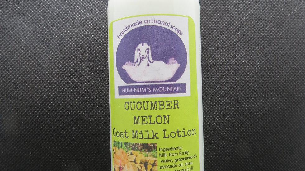Cucumber Melon Goat Milk Lotion
